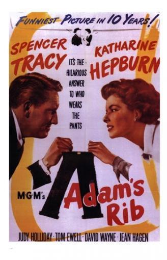 Adam's Rib Movie Poster (11 x 17) 7ALSUJDS0VLZROVJ