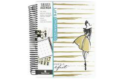 Pl-0023e paper house life org planner 18 month per imperfct