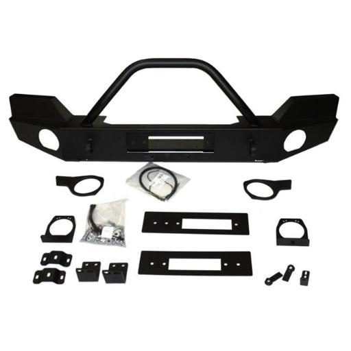 Elite Series Front Bumper with Grill Guard Tube