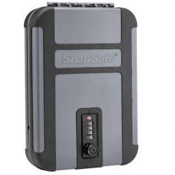 Snapsafe 75241 snapsafe treklite lock box with tsa combination lock xl polycarbonate