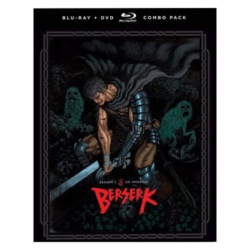 Berserk-season one (blu-ray/dvd combo/2016/4 disc) JXIYLFMPTPQKG9ME