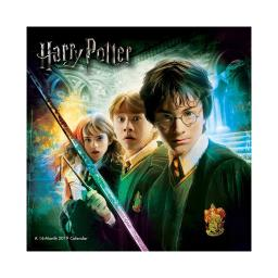 Harry Potter 16 Month 2019 Wall Calendar Hermoine Ron Hogwarts Dumbledore Gift