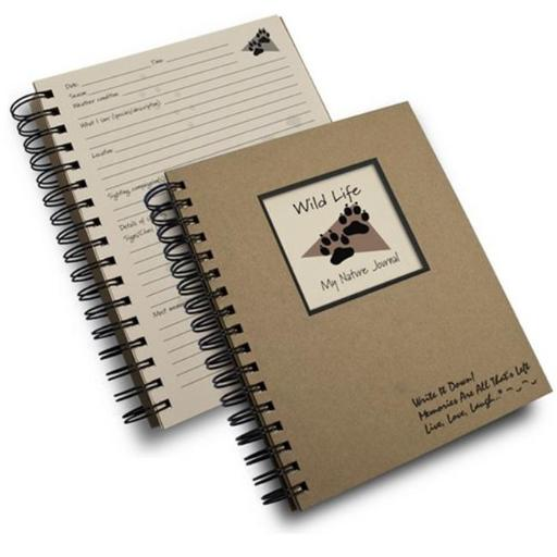 Journals Unlimited JU-52 Wild Life - My Nature Journal Book