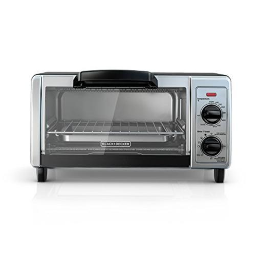Spectrum brands to1705sb b & d 4 slice toaster oven ss