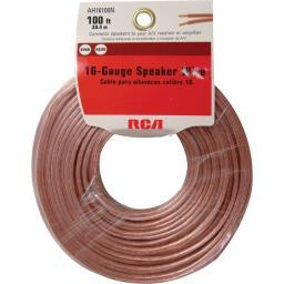 Audiovox corp - rca one for all voxx - accessories                  an16100r             rca 16g speaker wire 100