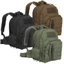 Voodoo Tactical 15-0146 MOLLE Low Drag Pack, Tactical Backpack 15-0146001000
