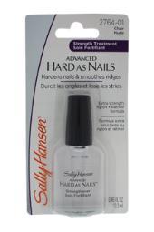 Sally Hansen Advanced Hard As Nails With Nylon & Retinol #2764-01 Nude 0.45 oz