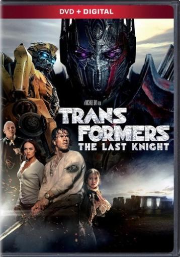 Transformers-last knight (dvd)