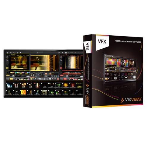 MIX VIBES VFX Audio and Video DJ Software