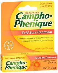Campho-phenique Original Cold Sore Treatment Gel Formula - 0.23 Oz