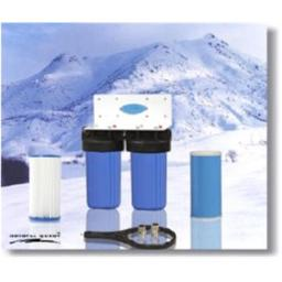 Crystal Quest CQE-WH-01105 Whole House Double Water Filter System CQE-WH-01105