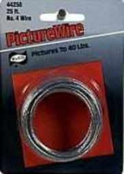Hillman Fasteners 121112 Wire Picture 25#4  Box