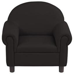 Early Childhood Resources ELR-15656-BK SoftZone Little Lux Pre-School Chair - Black