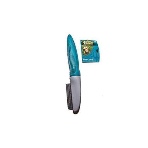 Flea Comb, Gray & Teal WBWYZBY6PWVOOU5S