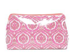 Roberta Roller Rabbit Women's Medallion Make-Up Bag Large Pink