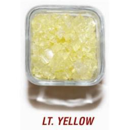 SANDTASTIK PRODUCTS INC. ICE20LBLYLW 20 LB. BOX OF 410 LIGHT YELLOW COLORED ICE