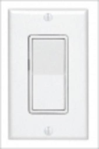 Leviton C22-05671-02w Decorator Rocker Switch With Wall Plate, 15 Amp, White