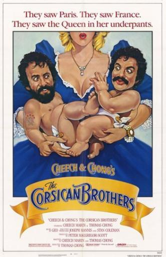 Cheech and Chong's the Corsican Brothers Movie Poster (11 x 17) ZFUGL4IHUQ4KVD92