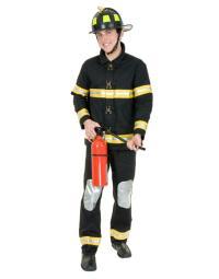 Fireman Bunker Gear Costume CH01580SBK