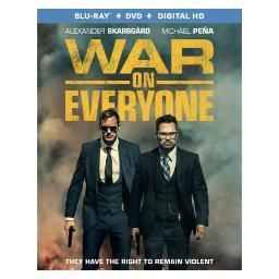 War on everyone (blu ray/dvd w/dig hd) (ws/eng/span sub/eng sdh/5.1 dts-hd) BR51745