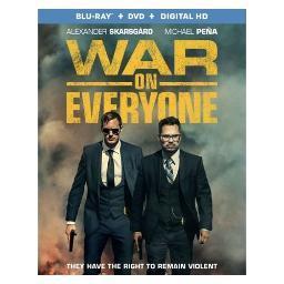 War on everyone (blu ray/dvd w/dig hd) (ws/eng/span sub/eng sdh/5.1 dts-hd) BR51745