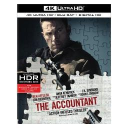 Accountant (2016/blu-ray/4k-uhd/2 disc) BR633566
