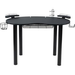 Atlantic-personal & portable 82050334 black elipse gaming desk