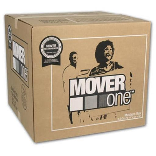 Schwarz Supply SP-902 18 x 18 x 16 in. Mover One Medium Moving Box, Pack Of 15