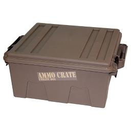Mtm  mtm ammo crate utility box   1370 dark earth