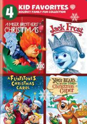 4 kid favorites-holiday family fun (dvd/4 disc) D418525D