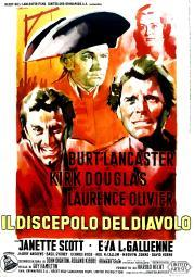 The Devil'S Disciple Italian Poster Clockwise From Bottom Left: Kirk Douglas Laurence Olivier Janette Scott Burt Lancaster 1959 Movie Poster Masterprint EVCMCDDEDIEC023HLARGE