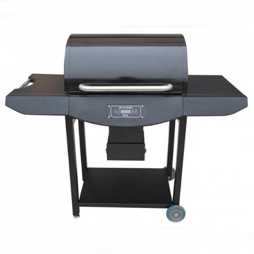 Hearth Distribution SNH-PRO-1-PC Original Smoke N Hot Pellet Grill Pro, Black