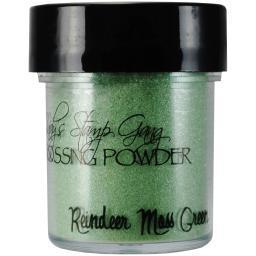 Lindy's Stamp Gang 2-Tone Embossing Powder .5oz-Reindeer Moss Green LSG-EP-17