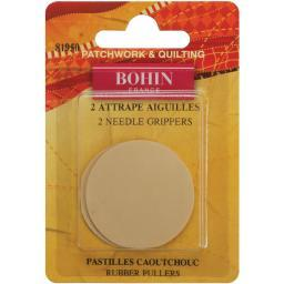 Rubber Needle Grippers-2/pkg
