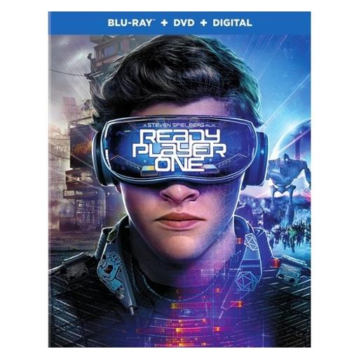 Ready player one (2018/blu-ray/dvd combo/digital hd)