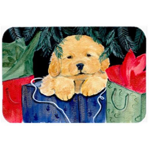 Golden Retriever Mouse Pad & Hot Pad Or Trivet