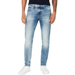 Calvin Klein Jeans Mens Denim Whisker Wash Skinny Jeans