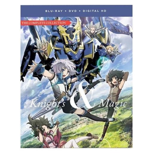 Knight & magic-complete series (blu-ray/dvd combo/4 disc/fun digital)