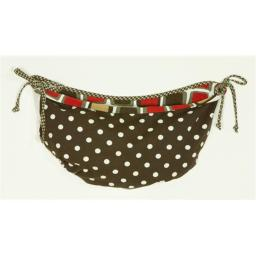 N. Selby HTTB Houndstooth Toy Bag