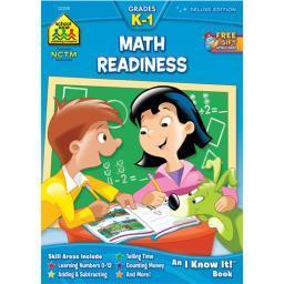Curriculum Workbook Math Readiness Deluxe - Grades K-1