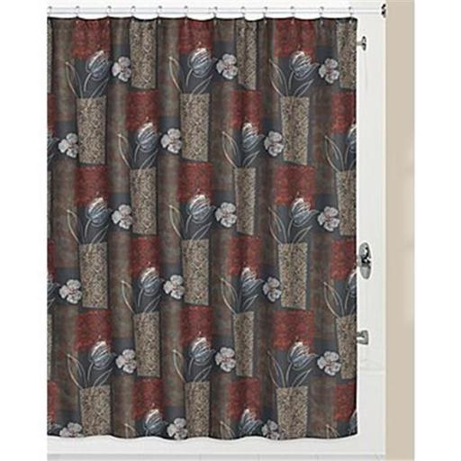 Creative Bath S1218MULT Borneo Polyester Shower Curtain