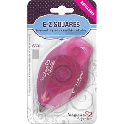 Scrapbook Adhesives E-z Squares Refillable Dispenser 650/pkg-permanent