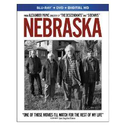 Nebraska (blu-ray/dvd w/digital-hd)                           nla BR7914644