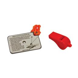 Orion safety products orion whistle mirror kit  744
