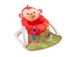 Fisher-price sit-me-up floor seat - monkey bfb15