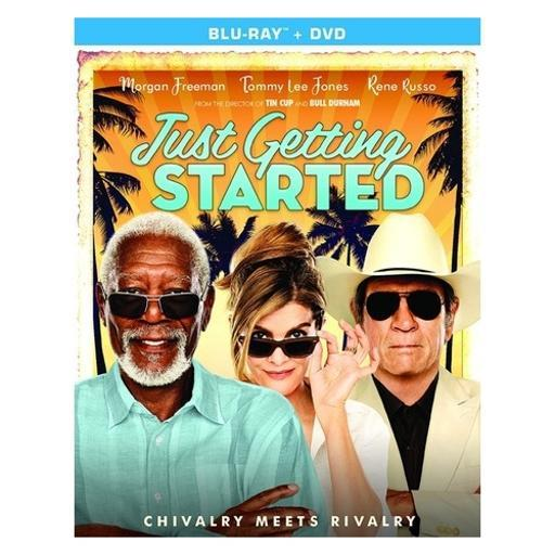 Just getting started (blu ray/dvd combo) (ws/2discs) JTSURPITAOHYOABB