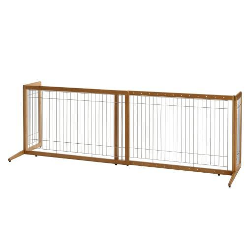 Richell 94180 Coffee Bean Richell Tak?Ÿ?? Freestanding Pet Gate Coffee Bean 40.4 - 70.5 X 20.1 X 24