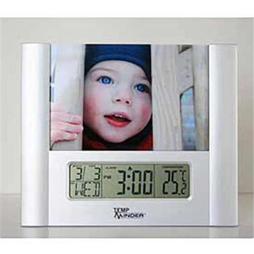 Minder Resch M6L-MRI125AG LCD Thermometer & Clock
