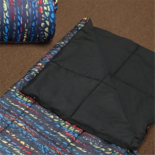 Veratex VX736425630323 Urban Kid Sleep Over Bag, Black Multi - Sleep Over Bag