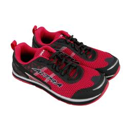 Altra The Intuition 1.5 Womens Red Mesh Athletic Lace Up Running Shoes